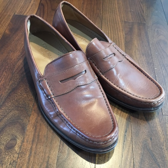 ff8e6e3990a Cole Haan Other - COLE HAAN Tan Leather Aiden Grand II Penny Loafers